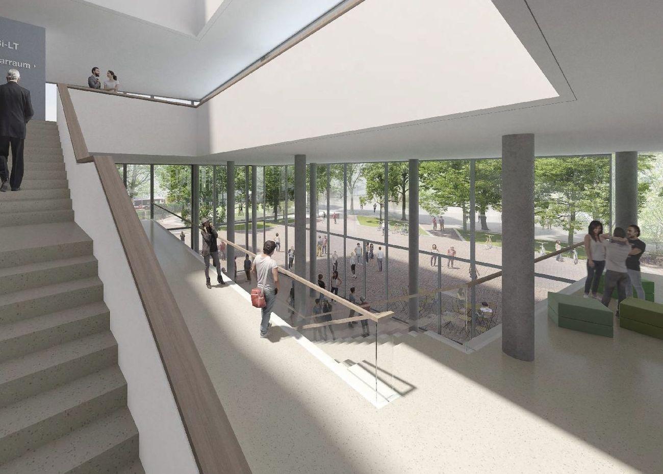 Architektenwettbewerb Beuth Hochschule Neubau Laborgebäude Berlin